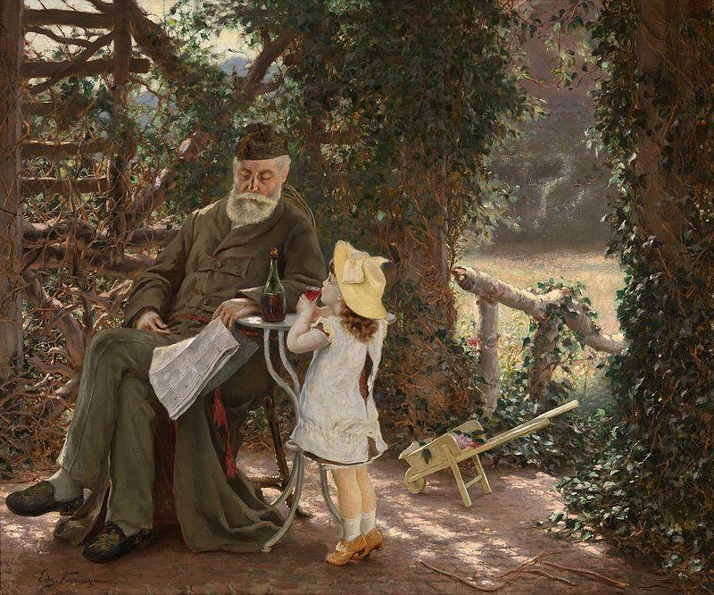 старуха трахаеца с внукам